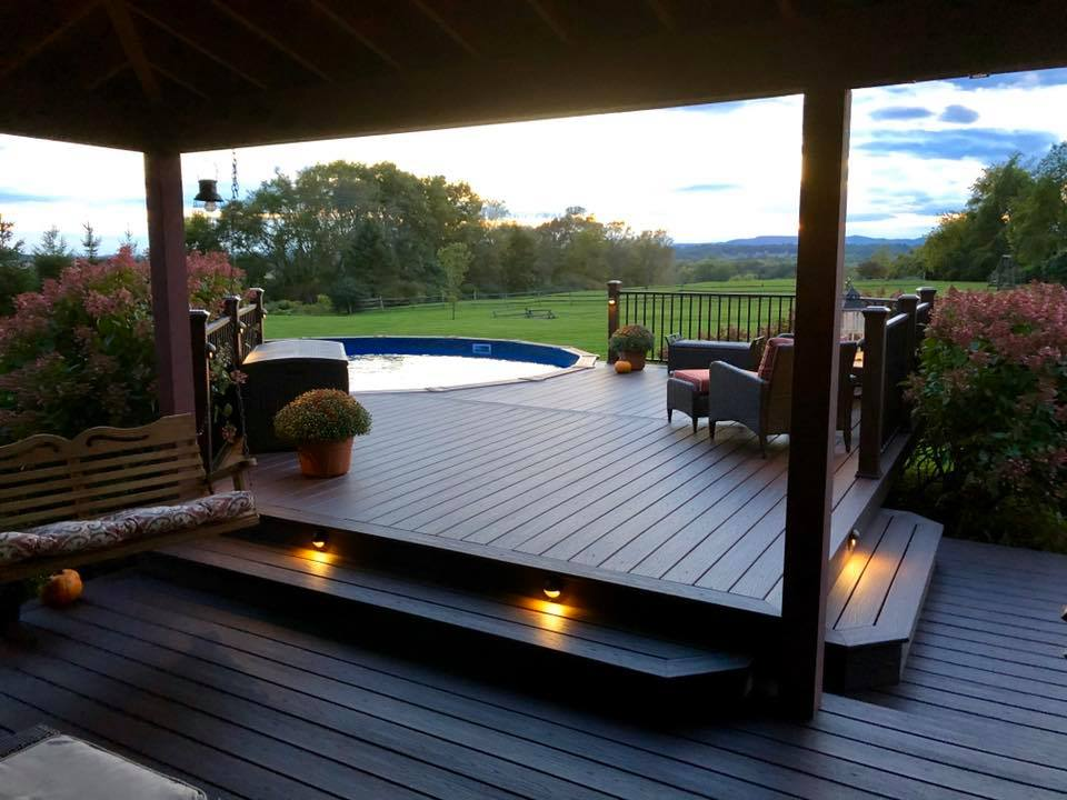 trex deck and pool surround