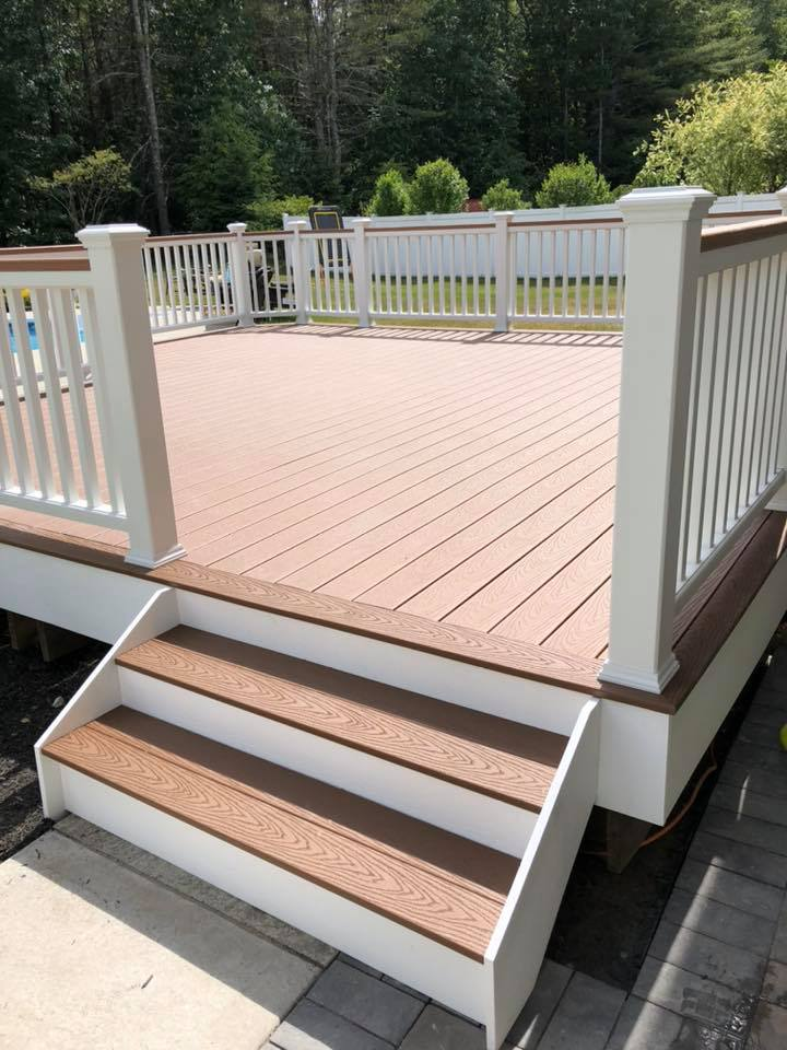 trex deck and steps