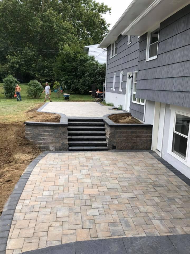 2 tier patio