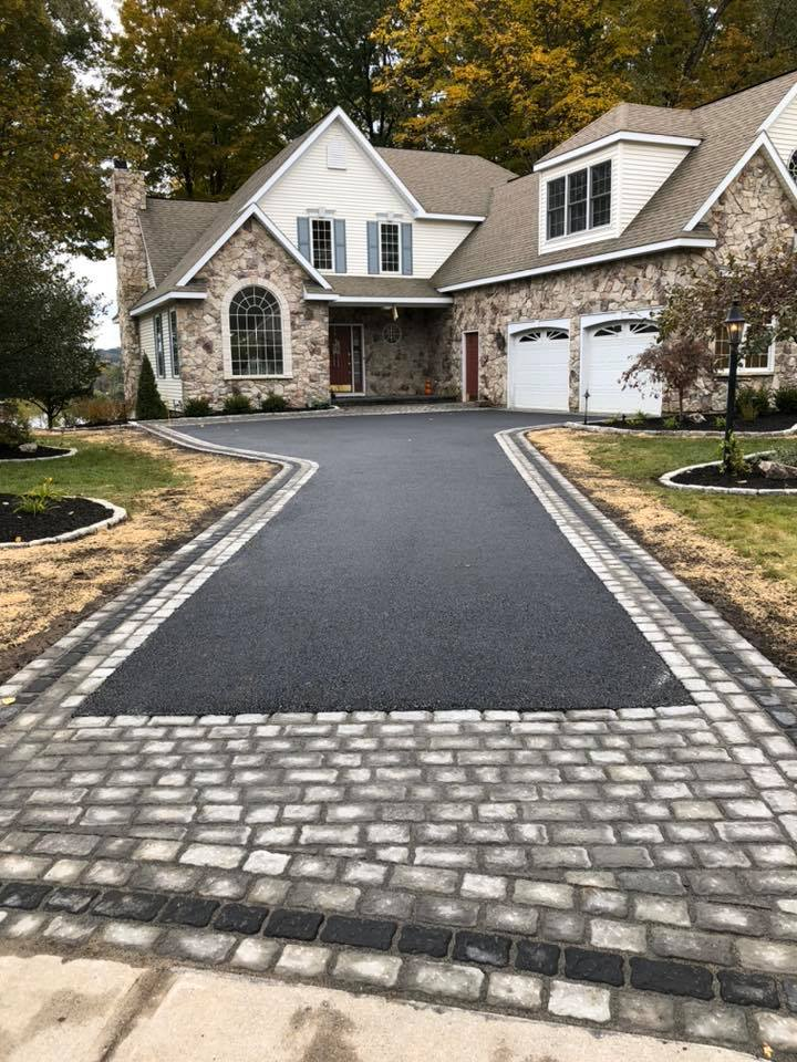 hardscape driveway design