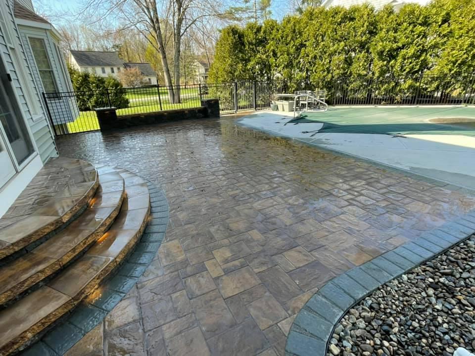 poolscape patio